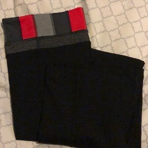 BRAND NEW WITHOUGHT TAGS BLACK WIDE YOGA PANTS